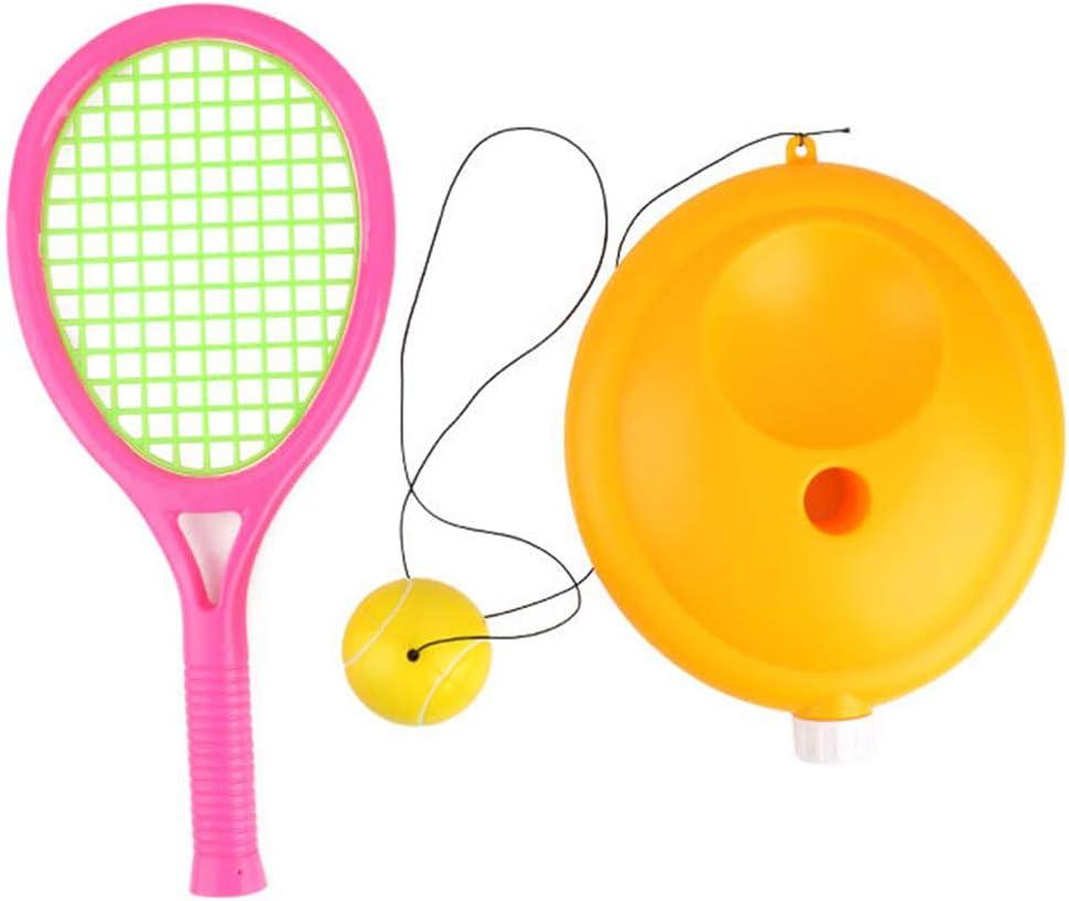 YYDM Niños Juguetes Raqueta De Tenis Set, Set Raqueta Tenis/Tenis De Principiantes Niños con La Cuerda/Solo Tenis De Ejercicio, para El Hogar Al Aire Libre Ejercicio De Los Deportes