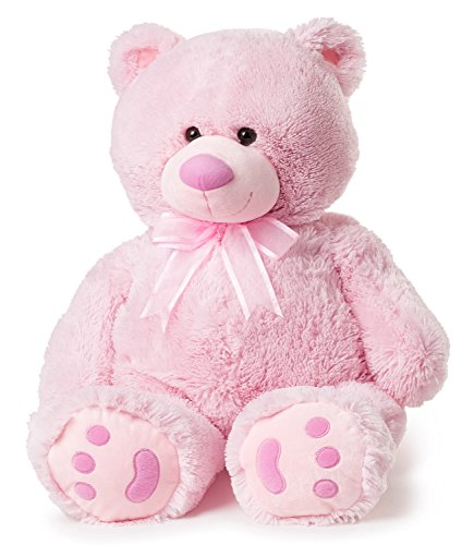 Cuddly Pink Teddy Bear - Big Teddy Bear - Pink