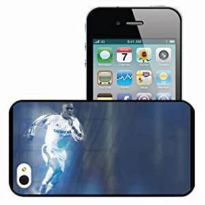 Personalized iPhone 4 4S Cell phone Case/Cover Skin Ronaldos Ronaldo Real Madrid Football Black