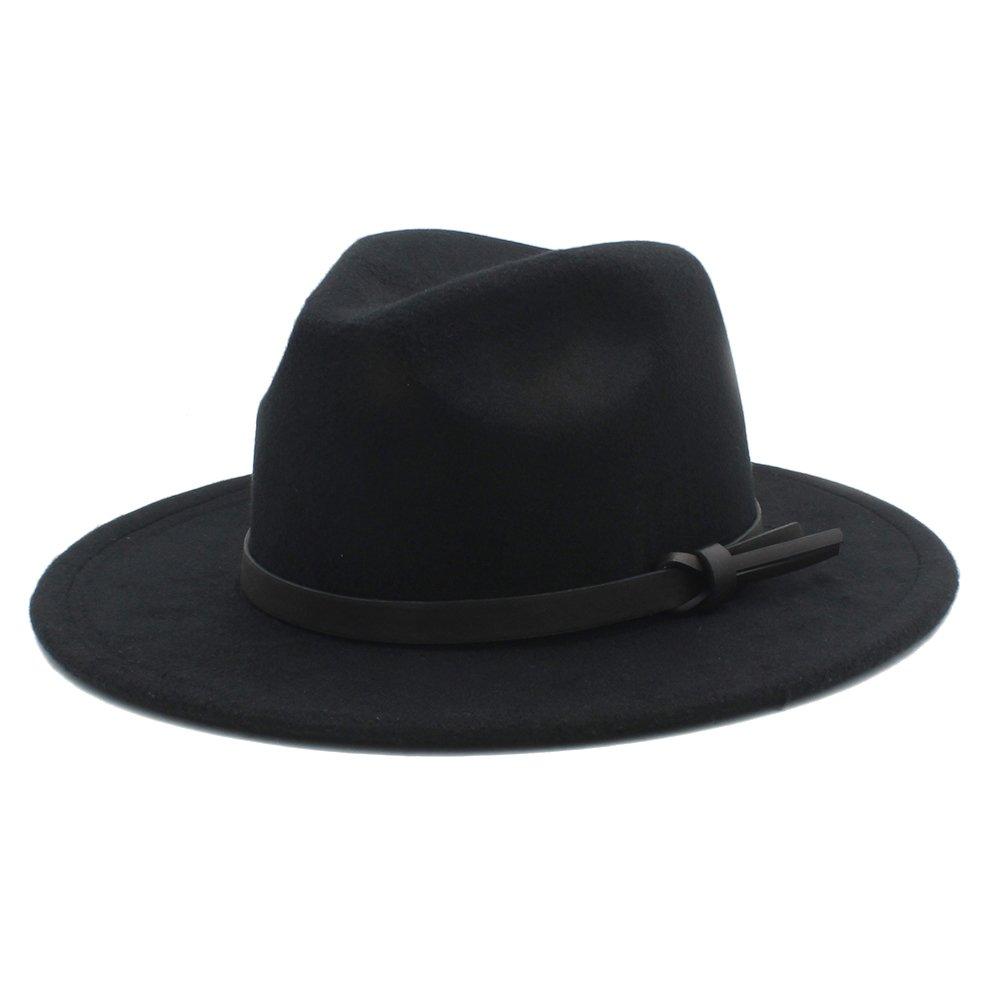 9b64e70a Amazon.com: MTX-Hats Various Styles Men Wool Fedora Panama Winter ...