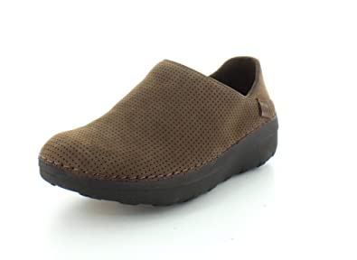 fede26afbab FitFlop Superloafer Chocolate Brown Nubuck UK3 Chocolate  Amazon.co ...