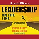 Leadership on the Line (Revised): Staying Alive Through the Dangers of Change Audiobook by Ronald A. Heifetz, Marty Linsky Narrated by Jack Garrett