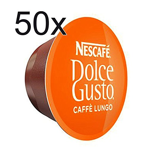 50 x Nescafe Dolce Gusto Coffee Capsules - Lungo