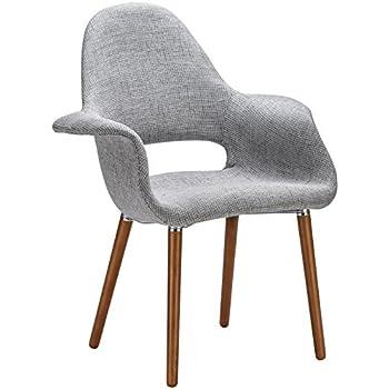 poly and bark organic armchair light grey