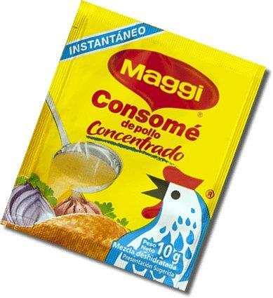 Maggi Consome de Pollo Concentrado / Concentrated Chicken Broth 10 g /24 Pack