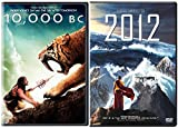 2012 & 10,000 B.C. DVD Sci-Fi Adventure Set