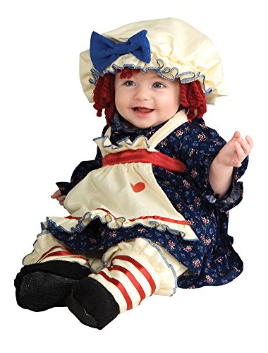 DISC0UNTST0RE Baby Girls - Ragamuffin Dolly Toddler Costume Halloween Costume