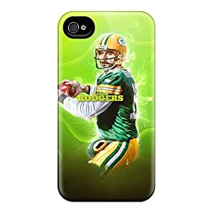 Shock Absorbent Hard Phone Cases For Iphone 6plus With Customized High-definition Green Bay Packers Series Marycase88
