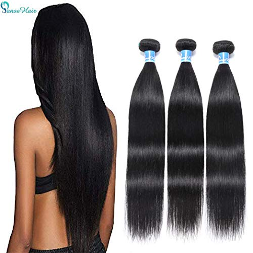 10A Peruvian Virgin Straight Human Hair 3 Bundles (16