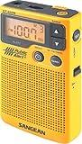 Sangean DT-400W AM/FM Digital Weather Alert Pocket Radio, NOAA Weather/Emergency Alert, Digital AM/FM Tuner, 19 Random Presets, Belt Clip, ''My Favorite Station'', Select Button, Auto Seek Station