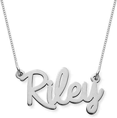 Moonlight Collections Jamie Custom Necklace Personalized Gift for Women Handmade Chain Pendant