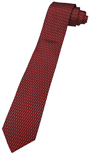 - Tommy Hilfiger Neck Tie Christmas Red w/ Penquins