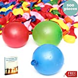 Water Balloons Easy Fill Color Bombs Bunch of Balloons Easy to Tie Kids Toy & eBook by AllTim3Shopping