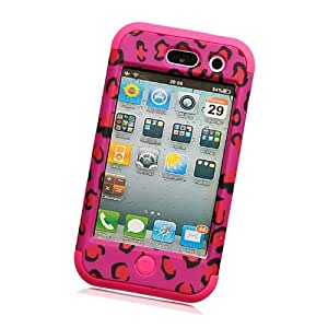 Fabcov Packing Shock Proof Hybrid Rugged Rubber Hard Cover Case For iPod Touch 4 4G 4TH