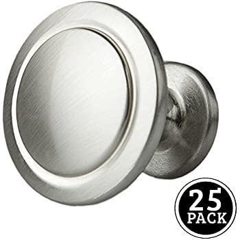 brainerd pbf800y bsp cp 32mm beaded cabinet hardware knob with
