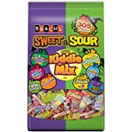Brach's Sweet & Sour Halloween Candy Kiddie Mix Trick or Treat Variety Pack, 305 Count