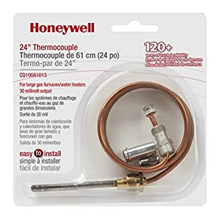 Honeywell CQ100A1013/U Not Available CQ100A1013 24-Inch Replacement Thermocouple for Gas Furnaces, Boilers and Water Heaters, quot