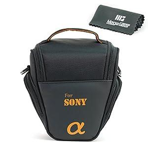 MegaGear ''Ultra Light'' Camera Case Bag for Sony DSC-RX10 III, Sony A3000, Sony SLT-A58K, Sony A65, Sony SLT-A77, Alpha DSLR, Sony Alpha a99 II, Sony Alpha a7II with 28-70 Lens Cameras