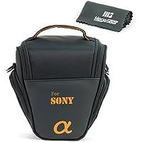 MegaGear Ultra Light Camera Case Bag for Sony DSC-RX10 III, Sony A3000, Sony SLT-A58K, Sony A65, Sony SLT-A77, Alpha DSLR, Sony Alpha a99 II, Sony Alpha a7II with 28-70 Lens Cameras