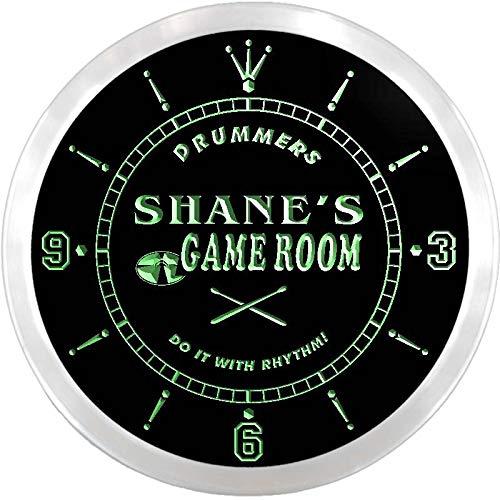 ADVPRO ncx0191-tm Shane's Drummer's Game Room Custom Name Neon Sign - Game Shanes