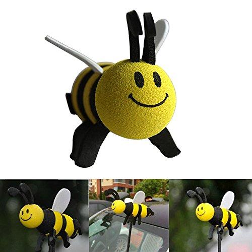 JiaUfmi Automobile Car Antenna Topper Eva Decorative Topper Balls, Bee