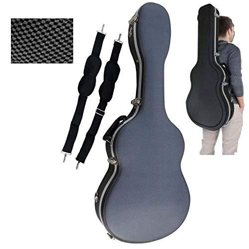 Estuche ABS para Guitarra Acústica, marca Cibeles (Gris ...