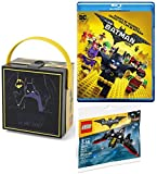 Lego DC Comics Batman Collection The Lego Batman Movie & Lunch Box + Batwing Building Toy Movie Bundle
