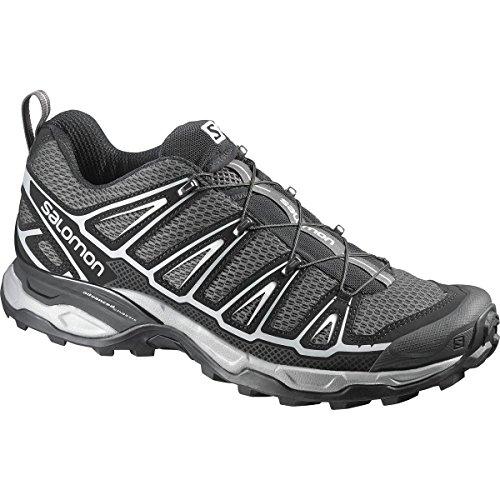 Salomon Men's X Ultra 2 Hiking Shoe, Autobahn/Black/Steel Grey, 10.5 M US