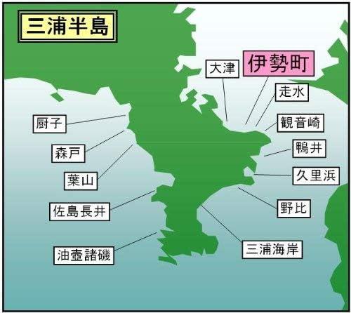 マイ海図 高精細印刷版パウチ加工無し -三浦半島 伊勢町 海岸11枚組