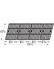 Music City Metals 69594 Gloss Cast Iron Cooking Grid Set Replacement for Gas Grill Model Brinkmann 810-9590-S