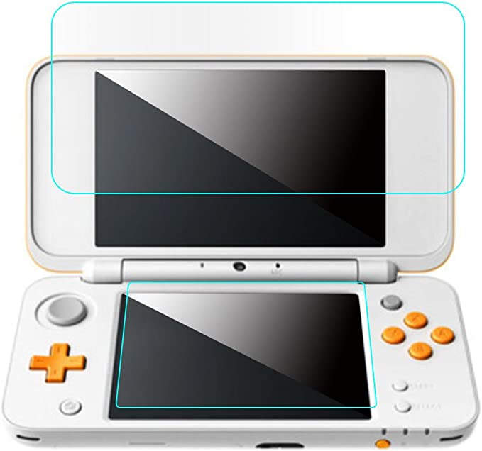 UOTA 1 Set Protector de Pantalla LCD Cristal Templado para Nintendo New 2DS XL/LL 2DSXL/2DSLL: Amazon.es: Electrónica