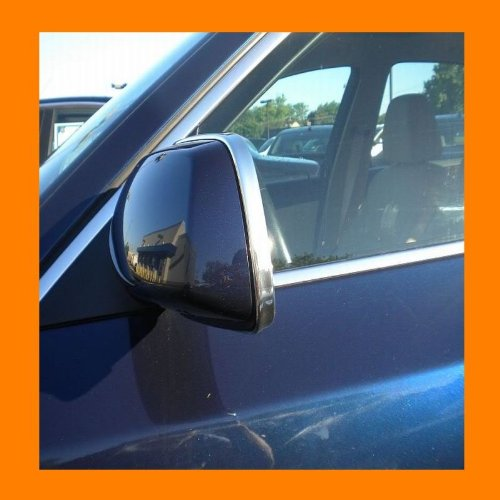 (312 Motoring fits 1997-1998 OLDS OLDSMOBILE REGENCY CHROME MIRROR TRIM MOLDINGS 2PC 97 98)