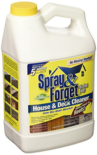 SPRAY & FORGET SFHD64OZ-4 64 oz House Deck Cleaner