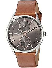 Men's SKW6086 Holst Saddle Leather Watch
