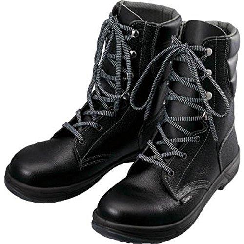 青木産業 安全靴 スニーカータイプ 紐式 ネイビーブルー SK110N 24.5CM B00O5YO97C