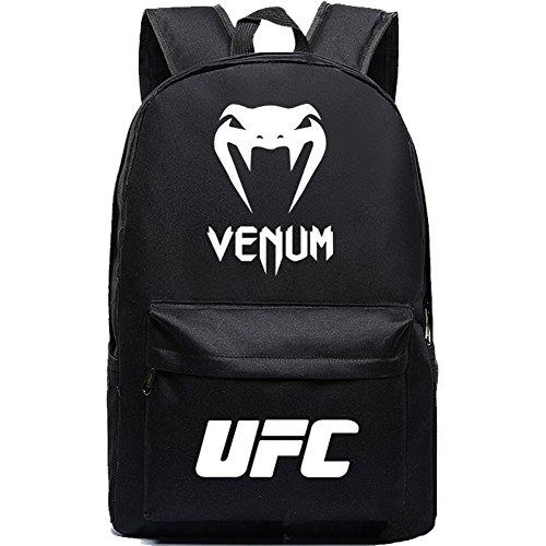 YOURNELO Boy's Girl's UFC Venomous Snake Rucksack School Bac