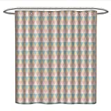 Best All Around Fishing Lines - Anniutwo Shabby Chichookless Shower curtainColorful Vintage Style Diamond Review