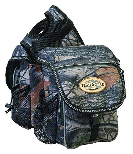 Camouflage Horse Saddle Bags - 7