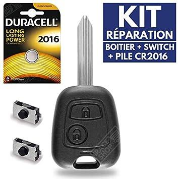 Caja mando a distancia - Carcasa de llave Peugeot Partner ...