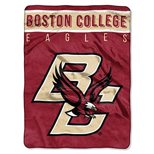 - The Northwest Company Officially Licensed NCAA Boston College Eagles Basic Raschel Throw Blanket, 60