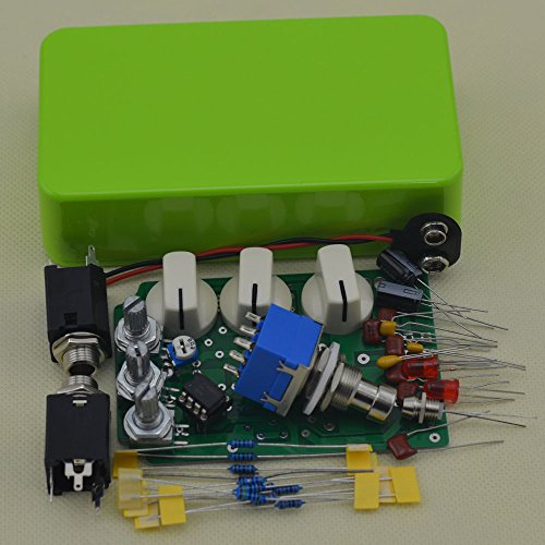 TTONE DIY Distortion DS-1 Guitar Pedal Effects Stompbox Kit Green No Holes by TTONE