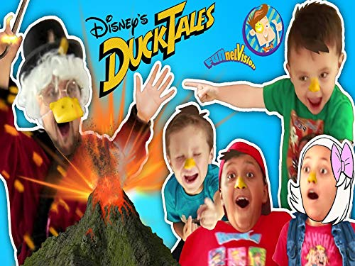 (Ducktales Volcano Science Experiment Prank On Scrooge Mcduck Funnel Vision)