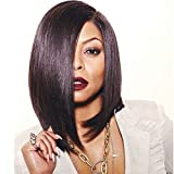 Ten Chopstics Wigs Short Full Lace Human Hair Wigs Side Part Silky Straight Brazilian Lace Front Wig With Baby Hair Glueless Full Lace Wig Bob Straight Wigs For Black Woman