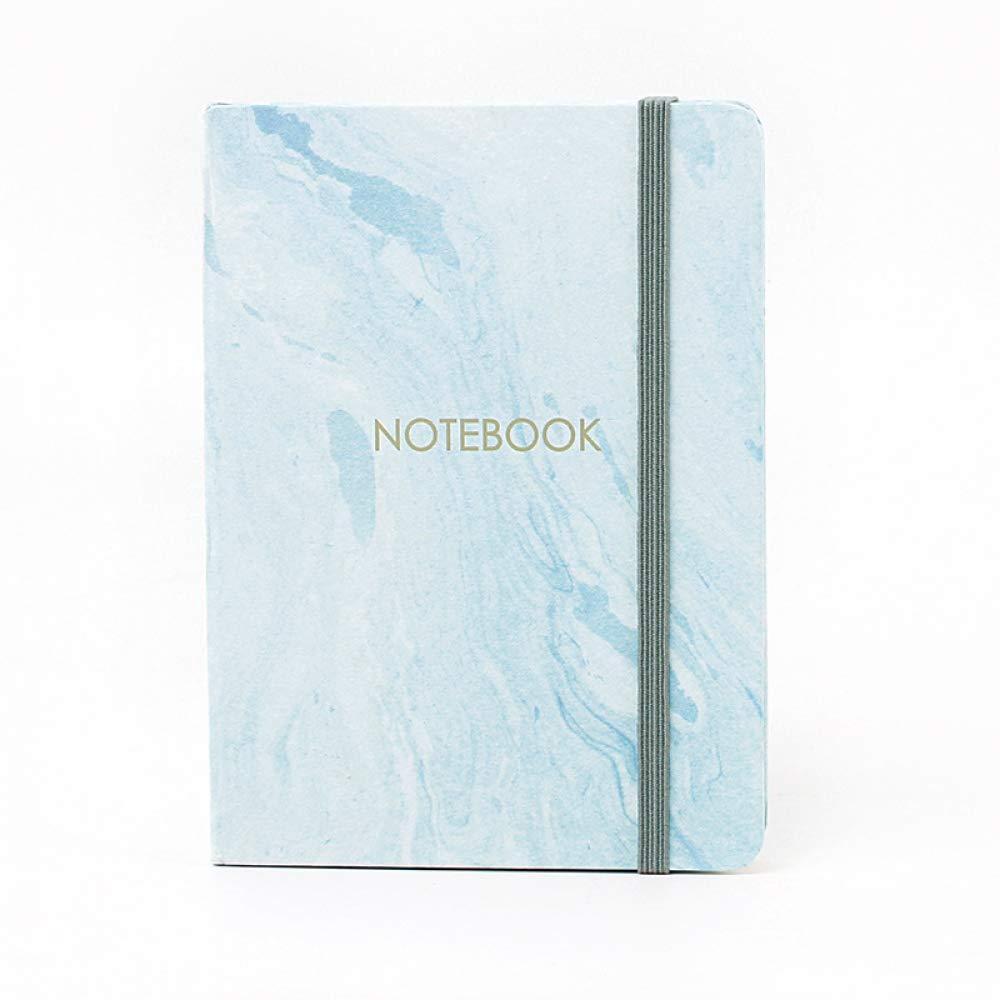 Jiheshou 1 unids 96 Hojas Bts Marble Notebook Planner Marble ...