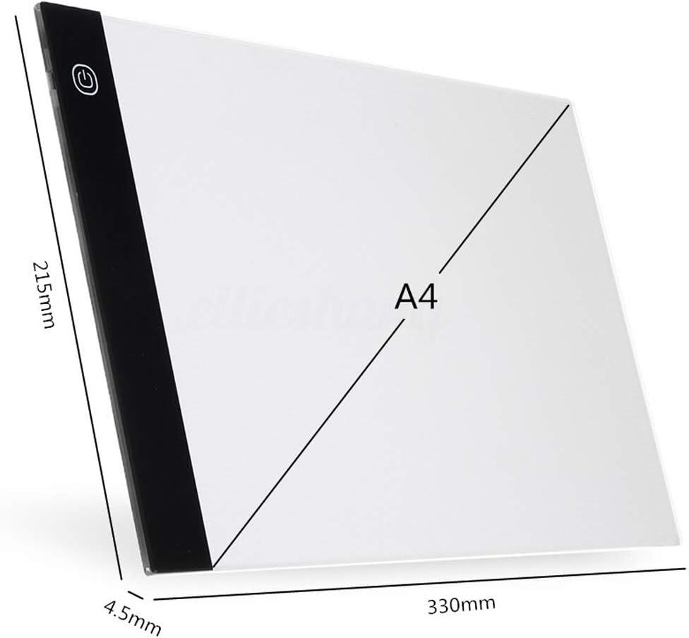 RoSoy A6 USB LED Kunst Schablone Board Light Tracing Zeichnung Copy Pad Tabelle Box