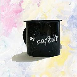 """Pocillo Peltre""""Mi cafesito"""""""