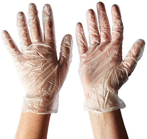 Price comparison product image West Chester 2750 / L Industrial Grade Powder Free Vinyl Gloves,  4 mil,  Large,  Clear (Box of 100)