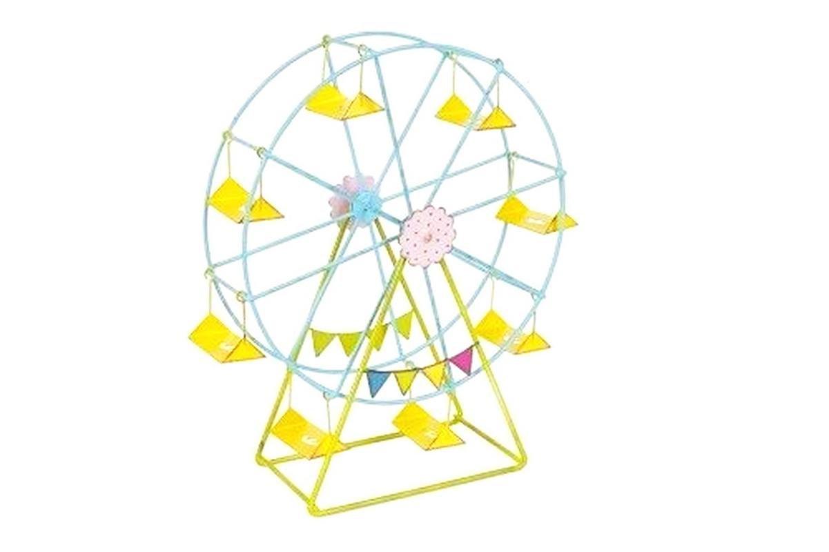 Mini Dollhouse FAIRY GARDEN Accessories - Mini Ferris Wheel - My Garden Miniatures