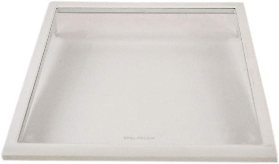 242068716 Refrigerator Spill-Safe Shelf Genuine Original Equipment Manufacturer (OEM) Part