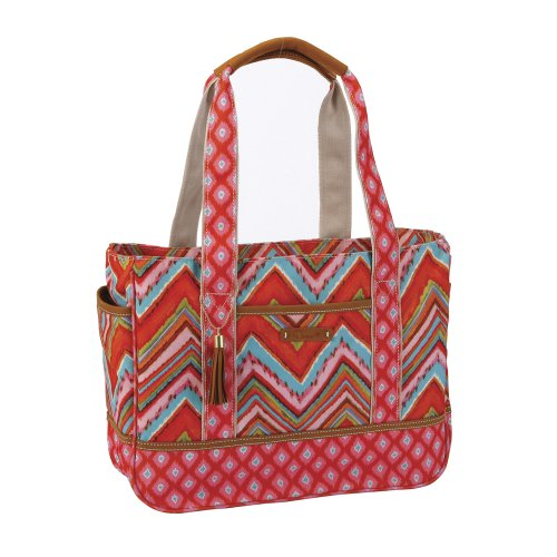 C.R. Gibson Dena Accessories Large Tote Bag, Bali ()